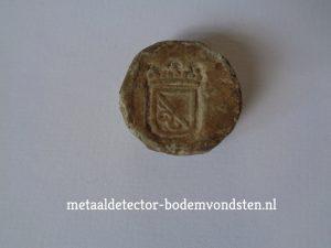 Loden blokgewichten Utrecht rond 1650 voorkant