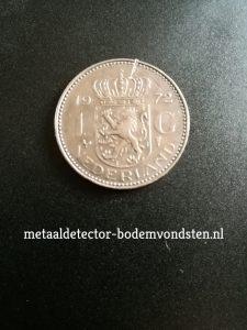 1972 koningin juliana 1 gulden achter