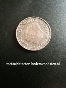 1972 koningin juliana 1 gulden voor
