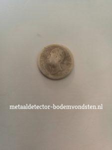 1848 Koning Willem 2 10 cent voor