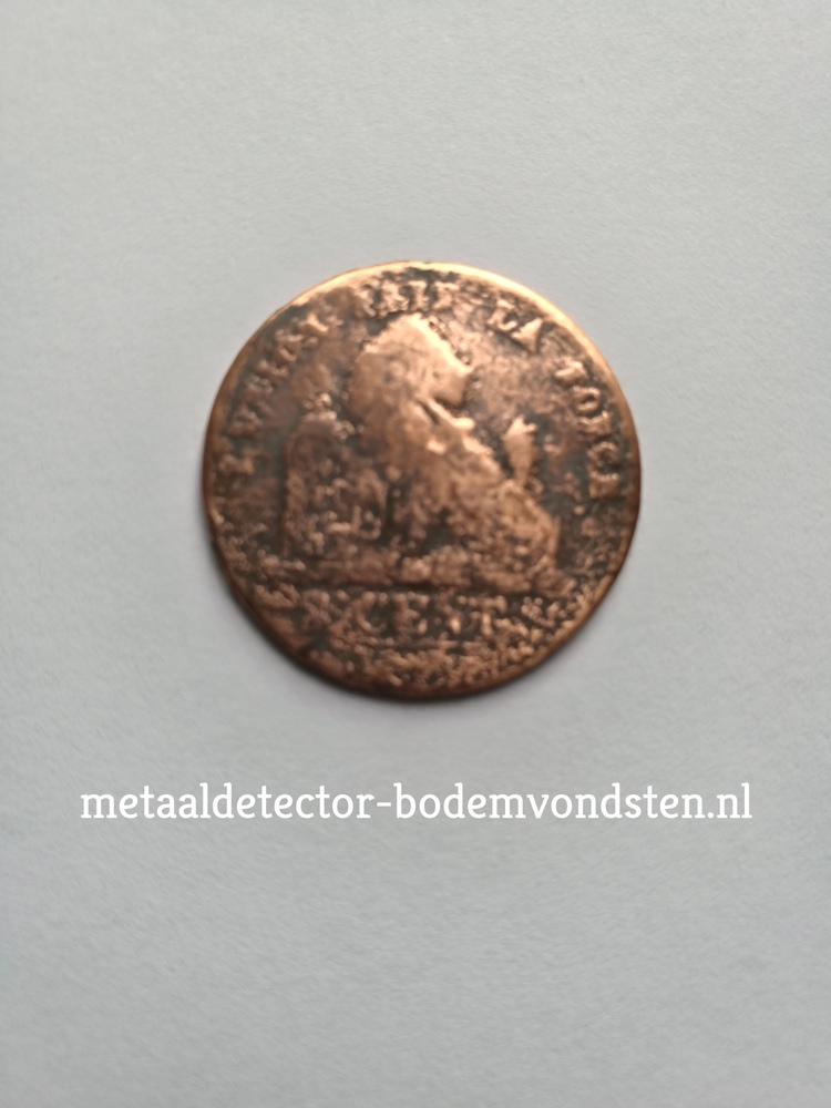 2 cent 1835 Leopold voorkant