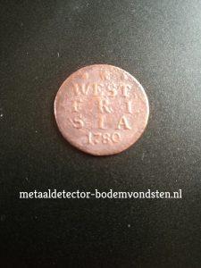 1780 west friesland duit voor