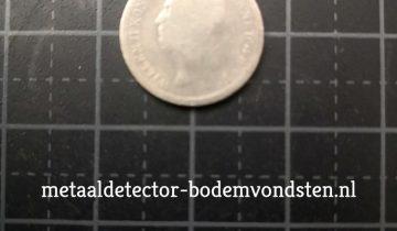 10 cent Koning Willen 1849 voorkant