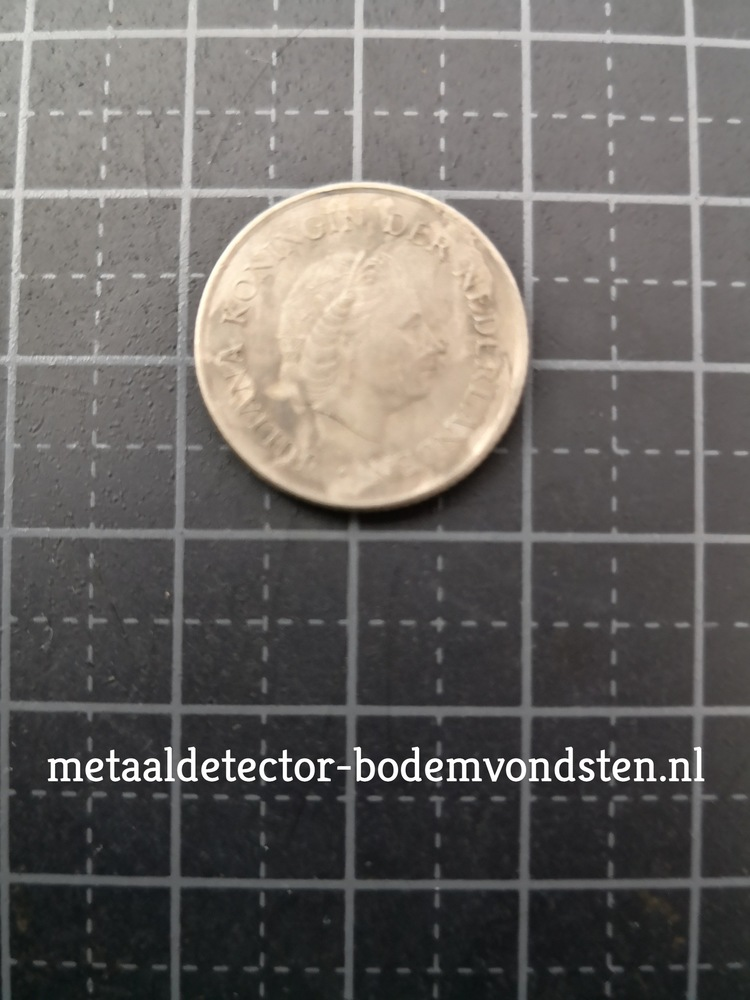 25 cent juliana 1969 voorkant