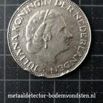 1961 2,50 Gulden Koningin Juliana